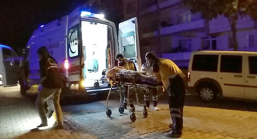 Sokak ortasında tüfekli, bıçaklı kavga: 2 yaralı