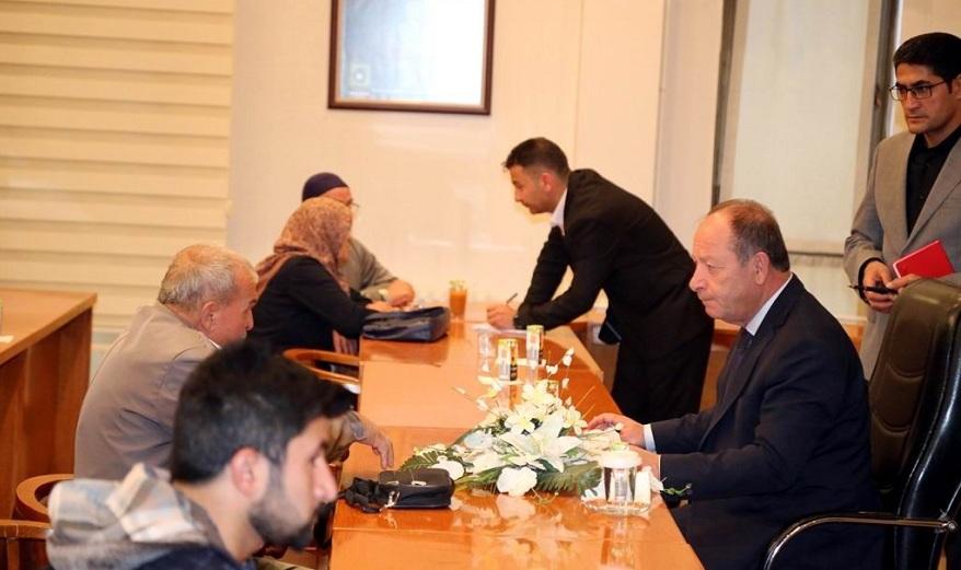 Başkan Oprukçu, vatandaşların sorunlarını dinlemeyi sürdürüyor