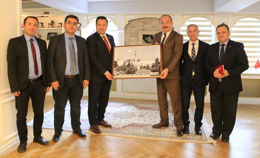 Basın Kurumlarından İl Emniyet Müdürü Aydın'a ziyaret