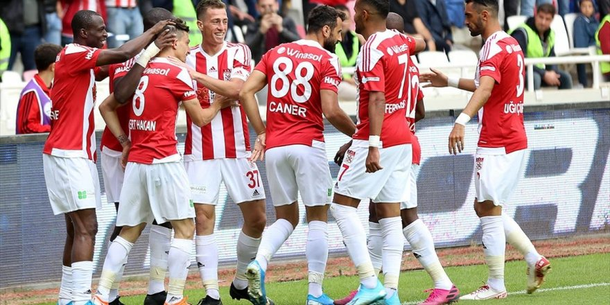 Sivasspor'dan 5 Sezonun En İyi Performansı