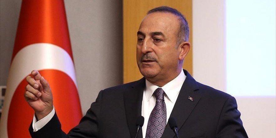 Dışişleri Bakanı Çavuşoğlu: Türkiye Sadece Güvenli Bölgede Kalan Deaş'lılardan Sorumlu
