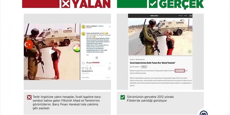 Harekat Aleyhine Manipülasyon İçin 'Filistinli Cesur Kız'ı Kullandılar