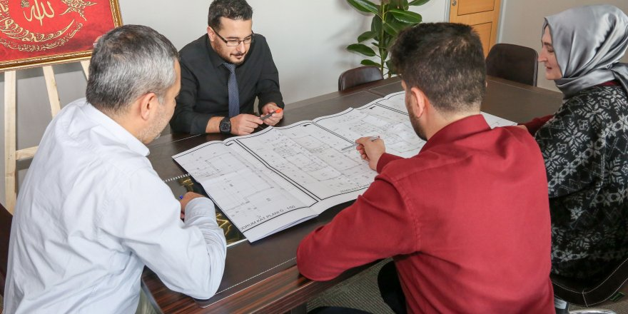 Meram'da mimari projeler artık dijital ortamda