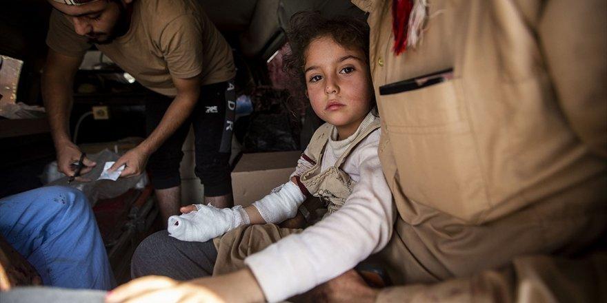 Tel Abyad'da Ypg/pkk'nın Eve Döşediği Mayın Patladı: 3 Sivil Yaralandı