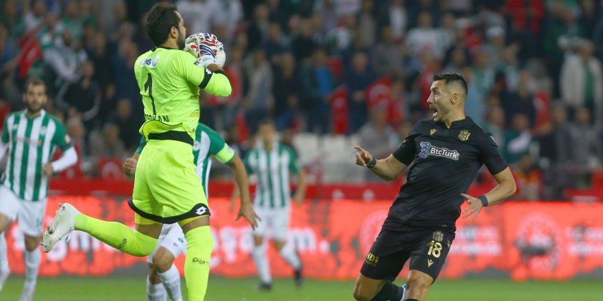 Konyaspor-Y.Malatyaspor: 0-2