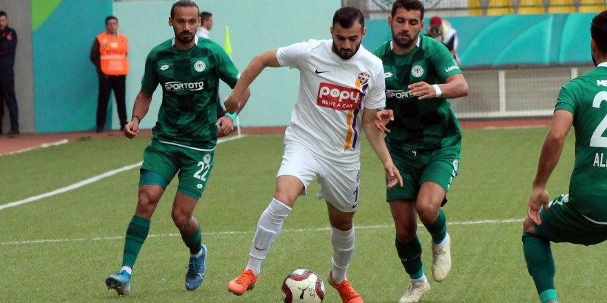 Konyaspor kupaya havlu attı: 1-0