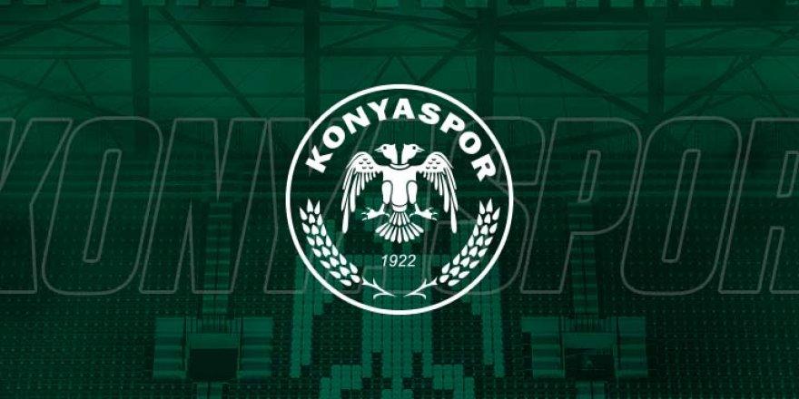 Konyaspor'dan beklenen açıklama geldi