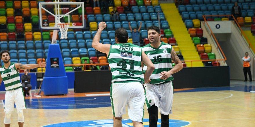 Konyaspor Basketbol deplasmanda kazandı