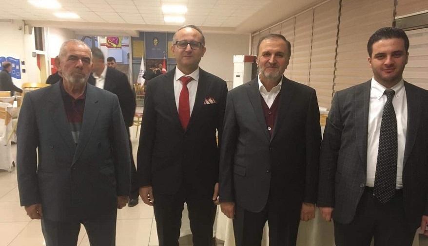 Mustafa Özkafa kızını evlendirdi
