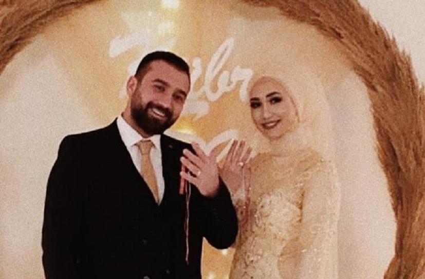 Kübra ve Muhammet evliliğe giden yolda ilk adımı attılar