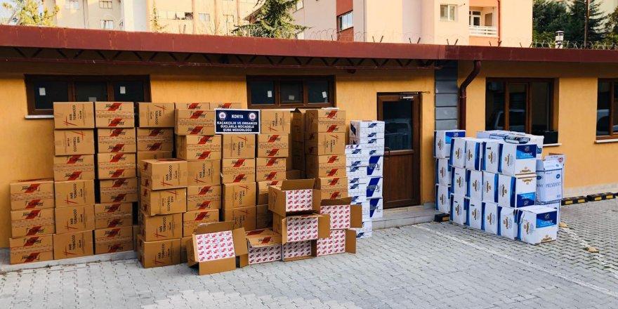 Konya'da 390 Kilogram Kaçak Tütün Ele Geçirildi
