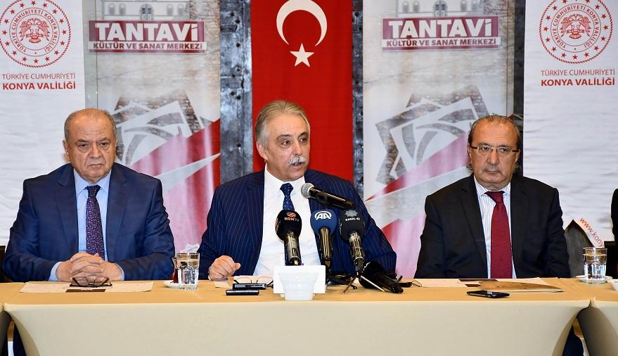 "Vali Toprak: ""Konya bir çok konuda zirvede"""