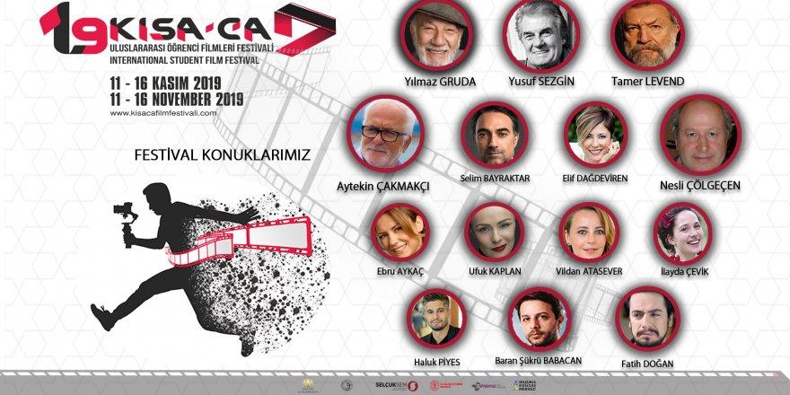 19. Kısa-ca Uluslararası Öğrenci Filmleri Festivali başlıyor