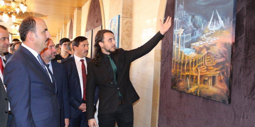 Konya'da Fuat Sezgin Yılı Karma Sergisi Açıldı