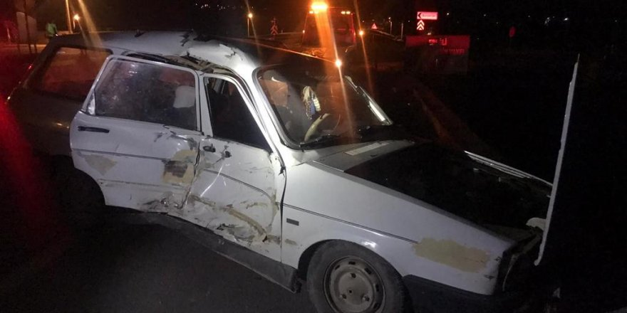 Konya'da Trafik Kazası: 5 Yaralı