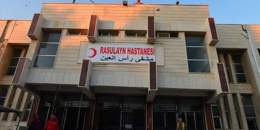 Teröristlerin Tahrip Ettiği Rasulayn Hastanesi Şifa Dağıtmaya Başladı
