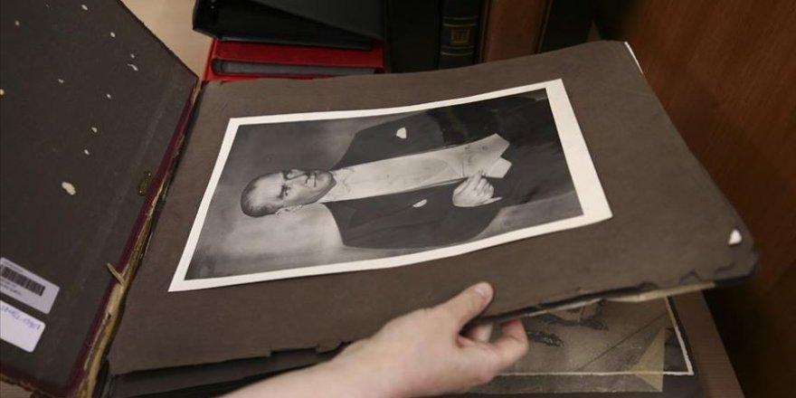 Ata'nın Cenaze Fotoğrafları Milli Kütüphane Arşivinde