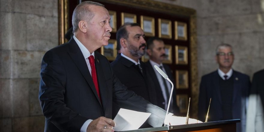 Cumhurbaşkanı Erdoğan: Cumhuriyetimizi İlelebet Yaşatmak İçin Tüm Gücümüzle Çalışacağız