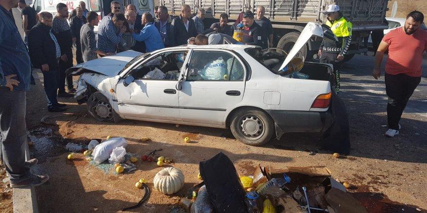 Ilgın'da Otomobil Devrildi: 2 Yaralı