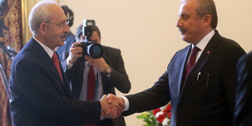 Tbmm Başkanı Şentop, Chp Genel Başkanı Kılıçdaroğlu İle Görüşecek