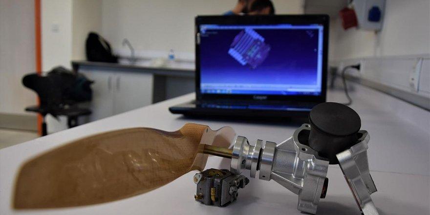 İha Yük Taşıma Kapasitesini Artırmak İçin Motor Prototipi Üretildi