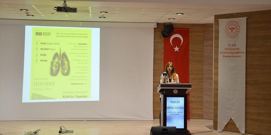 'Türkiye'de 40 Yaş Üstü Her 5 Kişiden Biri Koah Hastası'