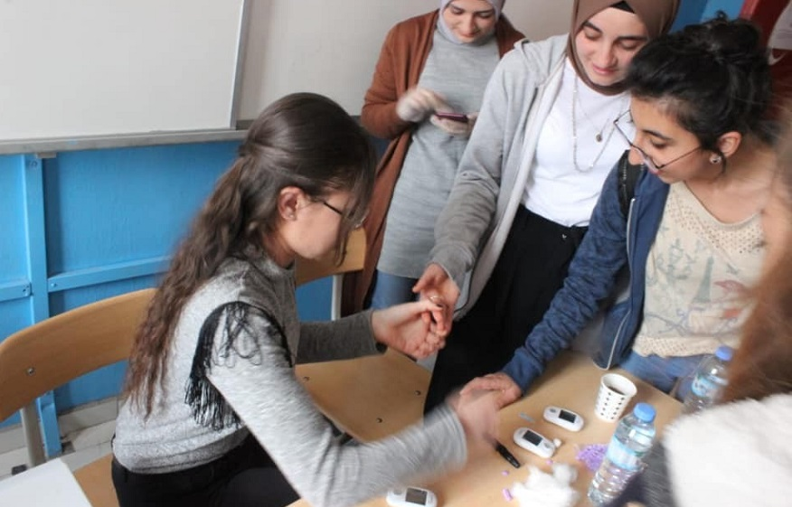 """Beyşehir'de """"Okulumda Sağlık Var"""" projesi"""