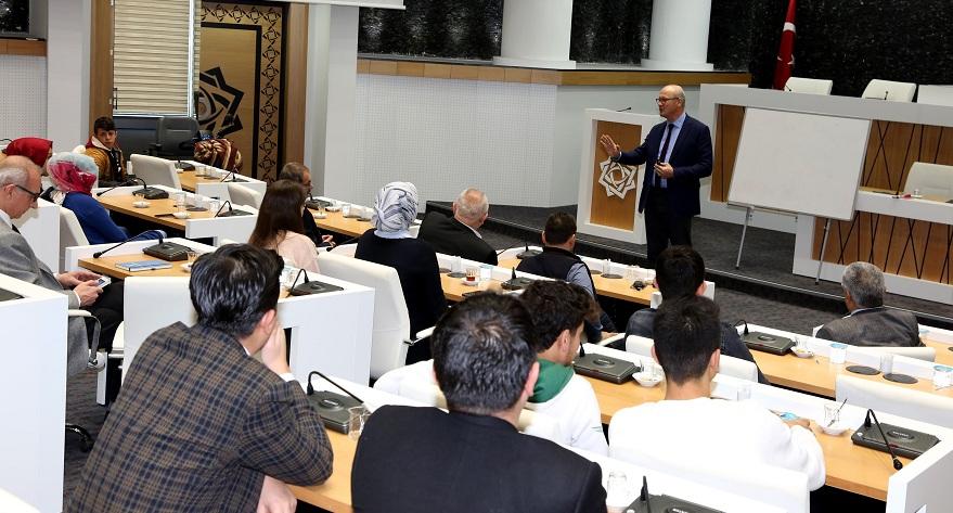 Meram Belediyesi personline hizmet içi eğitim verildi