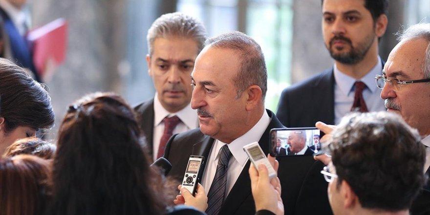 Bakan Çavuşoğlu: Libya İle Buna Benzer Askeri Ve Güvenlik Anlaşmalarımız Geçmişte De Var