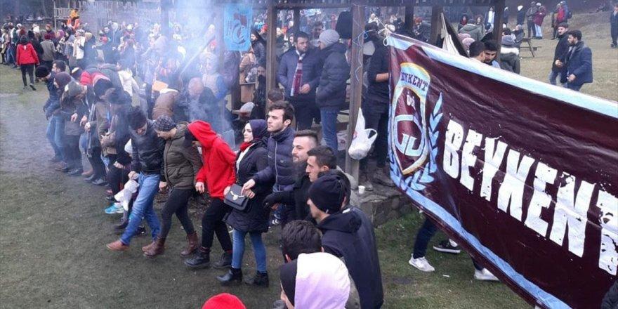 Abant'taki Hamsi Festivalinde Öğrencilere 1 Ton Hamsi İkram Edildi