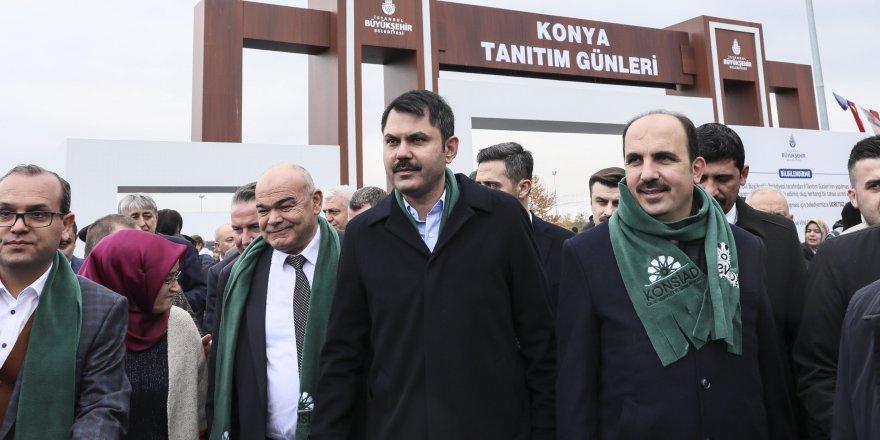Çevre ve Şehircilik Bakanı Murat Kurum 5. Geleneksel Konya Tanıtım Günlerine katıldı
