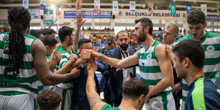 Konyaspor Basketbol'da ilk yarı iyi geçmedi