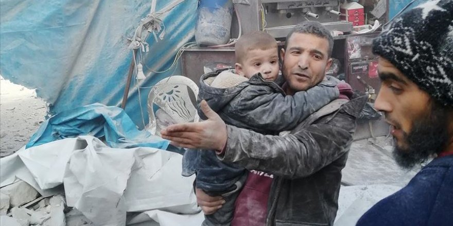 Esed rejimi ve Rusya ateşkese rağmen İdlib'de hava saldırılarına başladı: 15 ölü