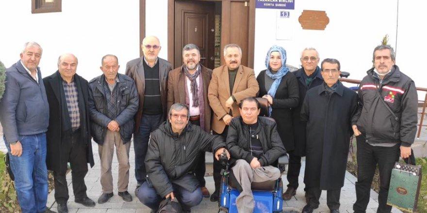 Selçukya'dan Ahmet Köseoğlu'na ziyaret
