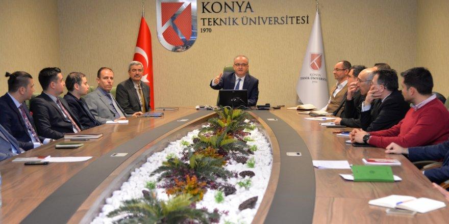 KTÜN'de Kalite Yönetim Sistemi Toplantısı Gerçekleştirildi