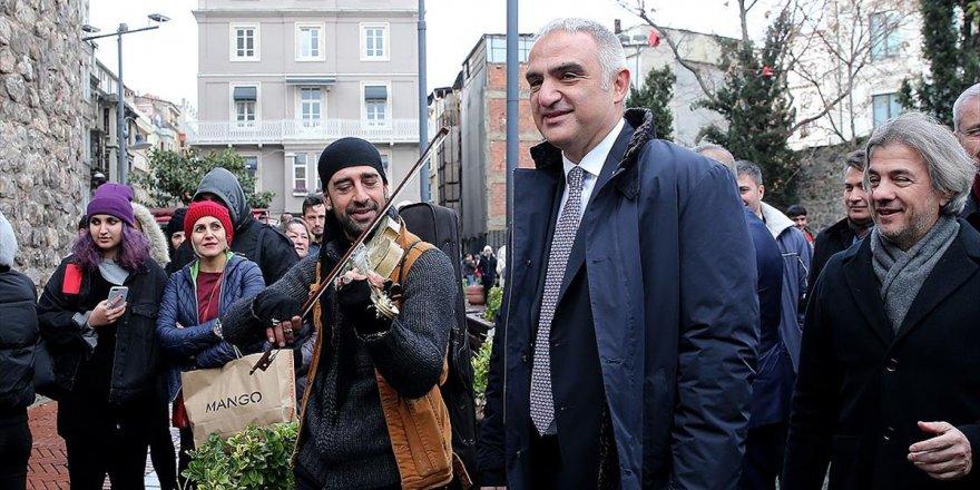 Kültür Ve Turizm Bakanı Ersoy Beyoğlu Kültür Yolu Planı'nı Açıkladı