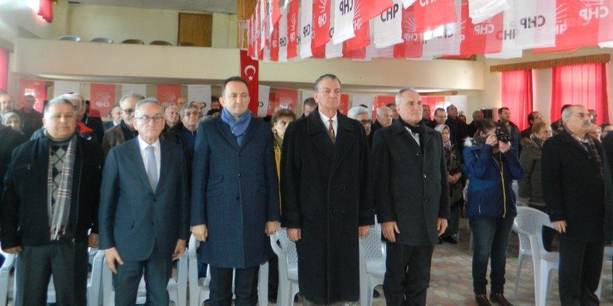CHP Derbent ve Hüyük'te ilçe kongrelerini gerçekleştirdi