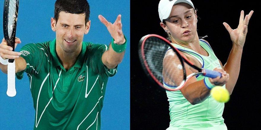 Avustralya Açık'ta Djokovic Ve Barty 2. Turda