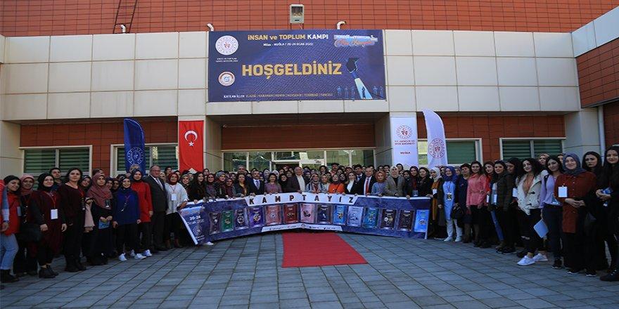 """Üniversiteliler Muğla'daki """"İnsan Ve Toplum Kampı""""nda Buluştu"""