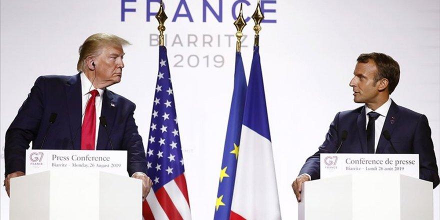 Macron Ve Trump İnternet Devlerine Uygulanan Vergi Konusunda Anlaşma Yolunda