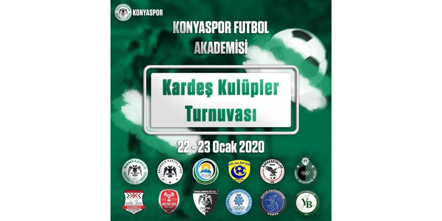 Kardeş Kulüpler Turnuvası Başlıyor
