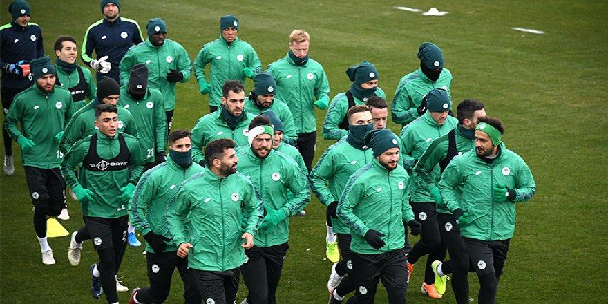 Konyaspor'da Galatasaray Maçı Hazırlıkları
