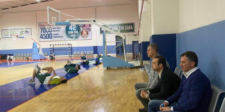 Konyaspor Basketbol'da GEMLİK MESAİSİ