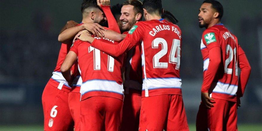 Kral Kupası'nda Granada Formasıyla İlk Golünü Atan İsmail Köybaşı Sakatlandı