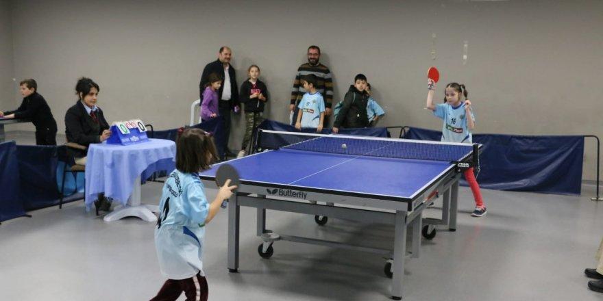 Sarıkamış Şehitleri Anısına masa tenisi turnuvası düzenlendi