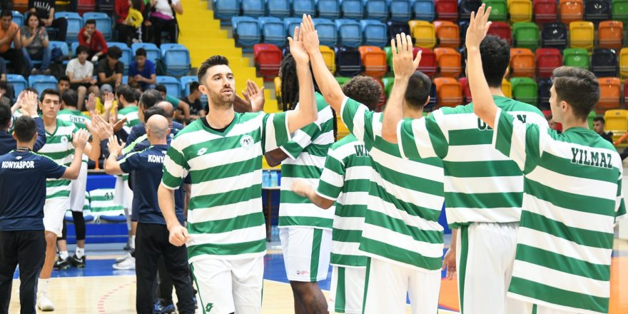 Konyaspor Basketbol galibiyetle başladı