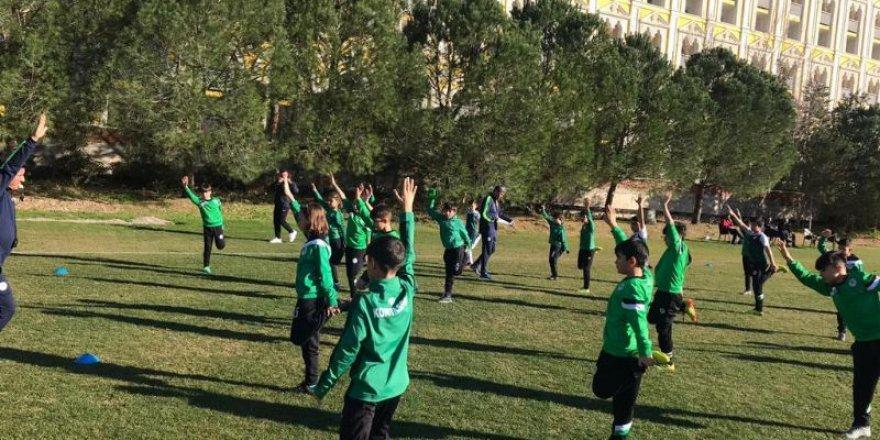 Konyaspor Futbol Akademisi'nde kış kampı başladı