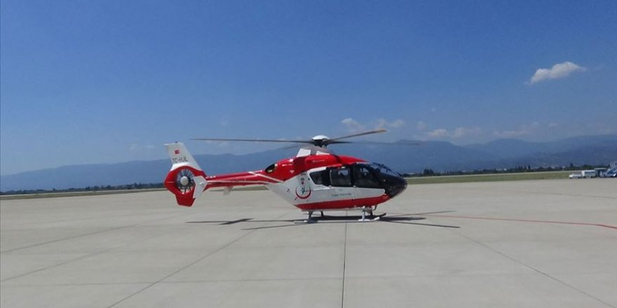 Ambulans helikopterle Antalya'ya getirilen organlar 4 kişiye nakledildi