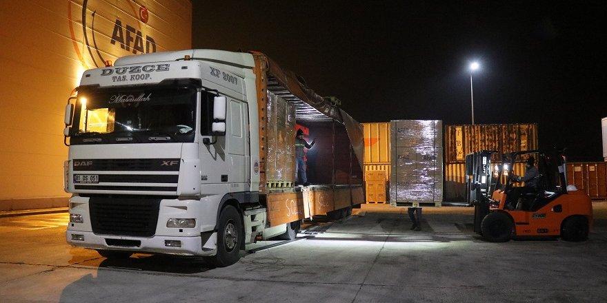 Seydişehir Ticaret Ve Sanayi Odası'ndan Elazığ'a 6 Tır Yardım Malzemesi