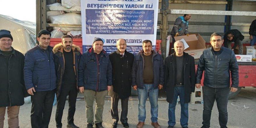 Beyşehir'den Deprem Bölgesine Yardım Seferberliği
